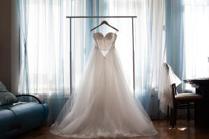 Nettoyage de robe de mariée à Plan-de-Cuques